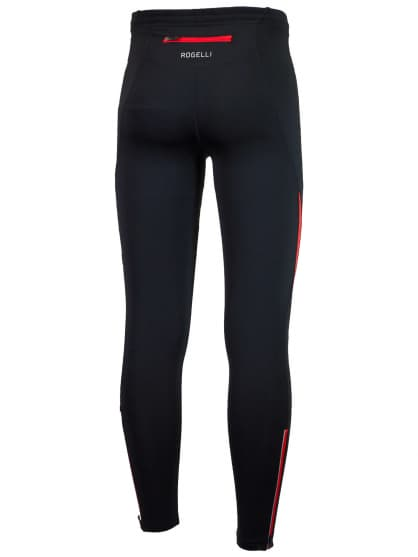 Bežecké nohavice Rogelli DUNBAR, čierno-červené