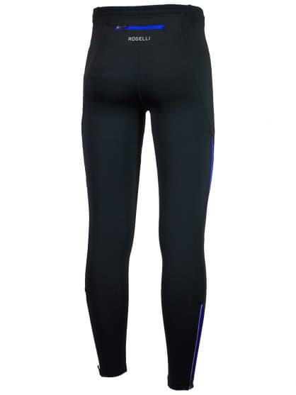 Bežecké nohavice Rogelli DUNBAR, čierno-modré