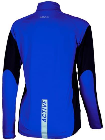 Dámska športová mikina Rogelli ELKA, modro-čierna