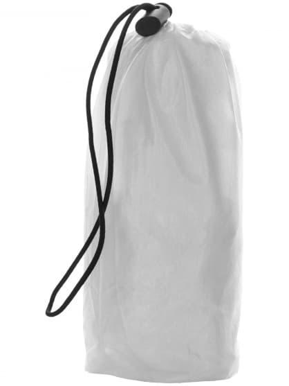Ultraľahká detská cyklovetrovka Rogelli CROTONE odolná voči silnému dažďu, transparentná