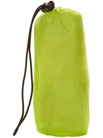 Ultraľahká detská cyklovetrovka Rogelli CROTONE odolná voči silnému dažďu, reflexná žltá
