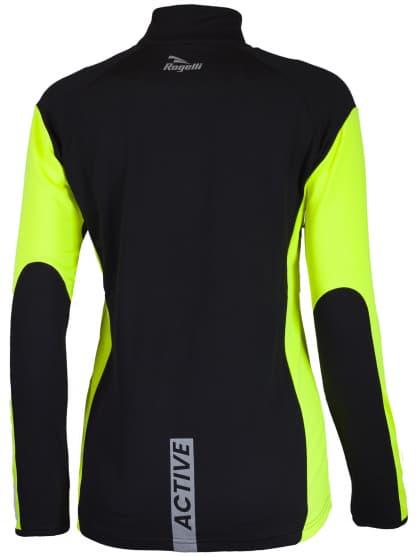 Dámske funkčné oblečenie Rogelli LADY-E, čierne-reflexno žlté