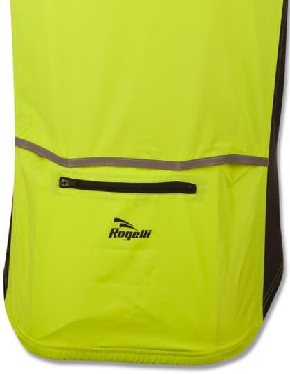 Cyklistická vesta Rogelli CANARO, reflexná žltá