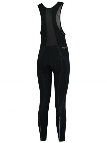 Dámske cyklistické nohavice Rogelli LIONA s gélovou cyklovýstelkou, čierne