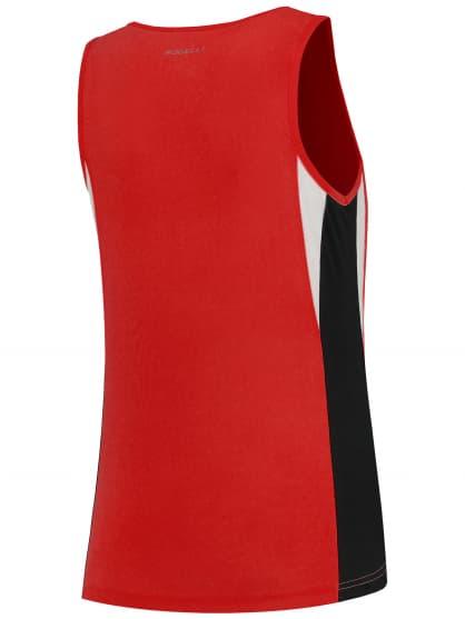 Dámske funkčné tielko Rogelli ESTY, červeno-čierno-biele