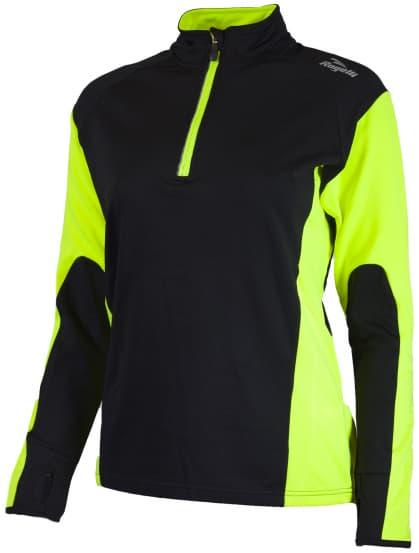 Dámske funkčné oblečenie Rogelli LADY-E, reflexné žlté-čierne