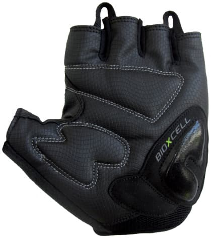 Cyklo rukavice Chiba BIOXCELL, čierne