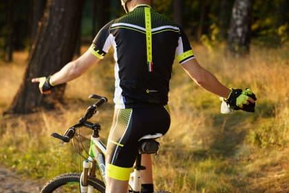 Letné cyklistické oblečenie Rogelli GARA MOSTRO, reflexné žlté