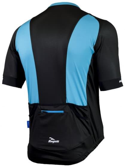 Vzdušný cyklodres PONZA 2.0 s krátkym rukávom, modrý