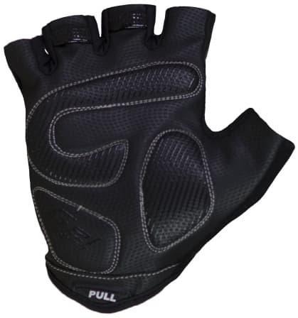 Dámske rukavice na bicykel Rogelli DOLCE, čierne