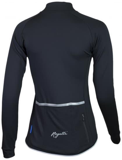 Dámsky cyklodres Rogelli BENICE 2.0 s dlhým rukávom, čierny