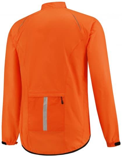 77be436e52 ... reflexná oranžová Ľahká cyklistická pláštenka s podlepeným švami Rogelli  TELLICO