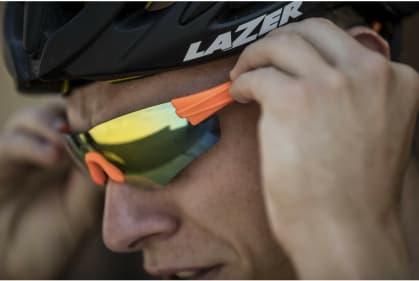 c1a310fb6 ... oranžové Športové okuliare Rogelli WRIGHT s výmennými sklami, oranžové