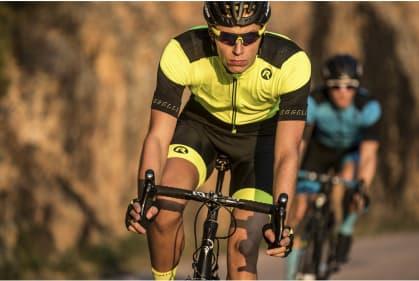 17624045bf13f ... Cyklooblečenie Rogelli RAPID RISE pánske, reflexné žlté. ‹ ›