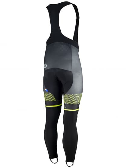 095730c3fa261 ... Exkluzívne cyklistické nohavice Rogelli RITMO s gélovou cyklovýstelkou,  čierno-reflexné žlté. ‹ ›