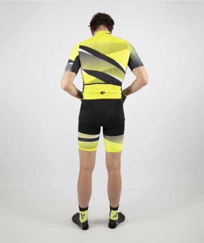 8c35690b9011c ... Exkluzívne pánske cyklooblečenie Rogelli ARTE, reflexné žlté. ‹ ›