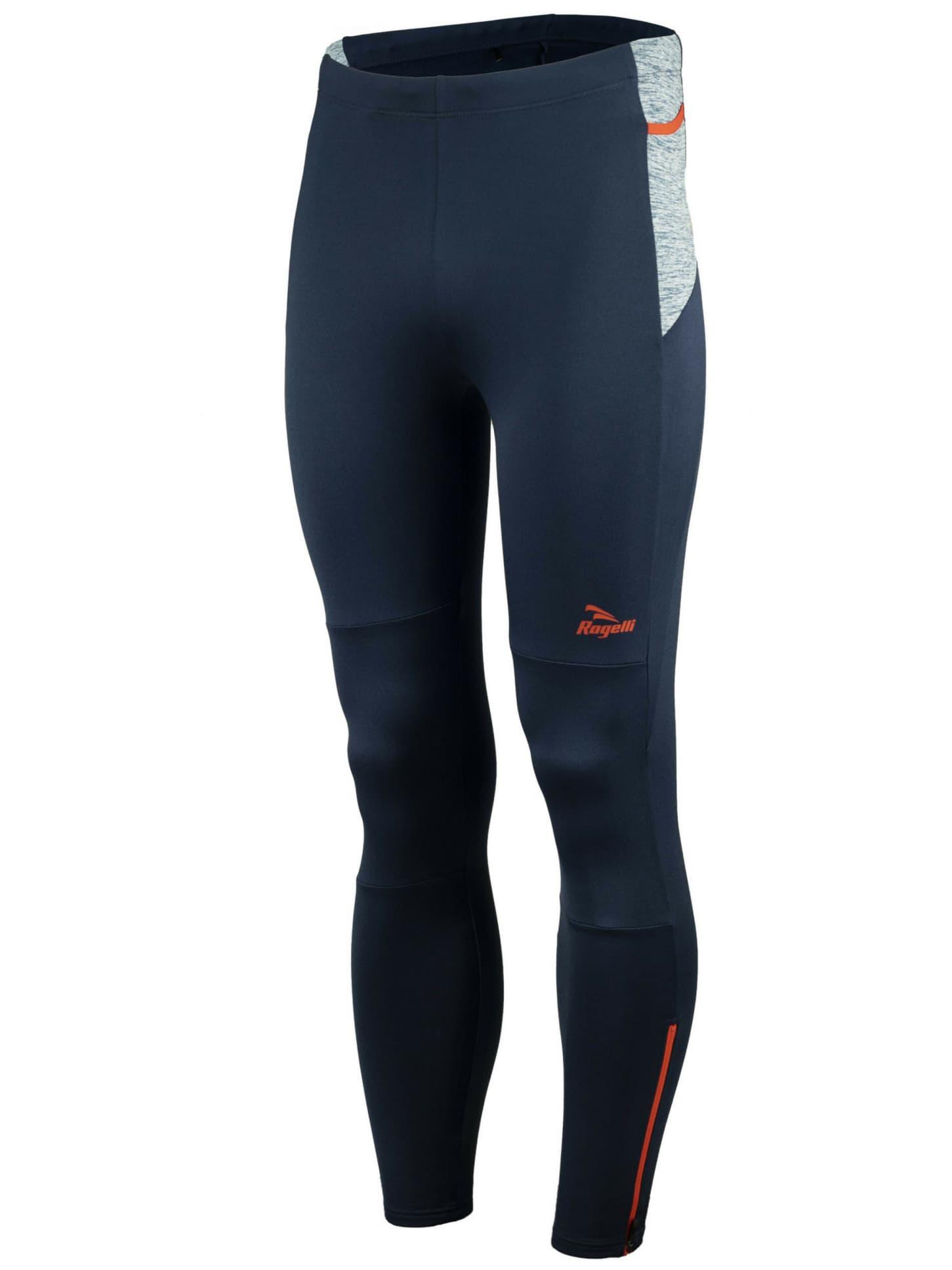 952e711ae Pánske bežecké nohavice Rogelli BROADWAY s ľahkým zateplením, modro-červené