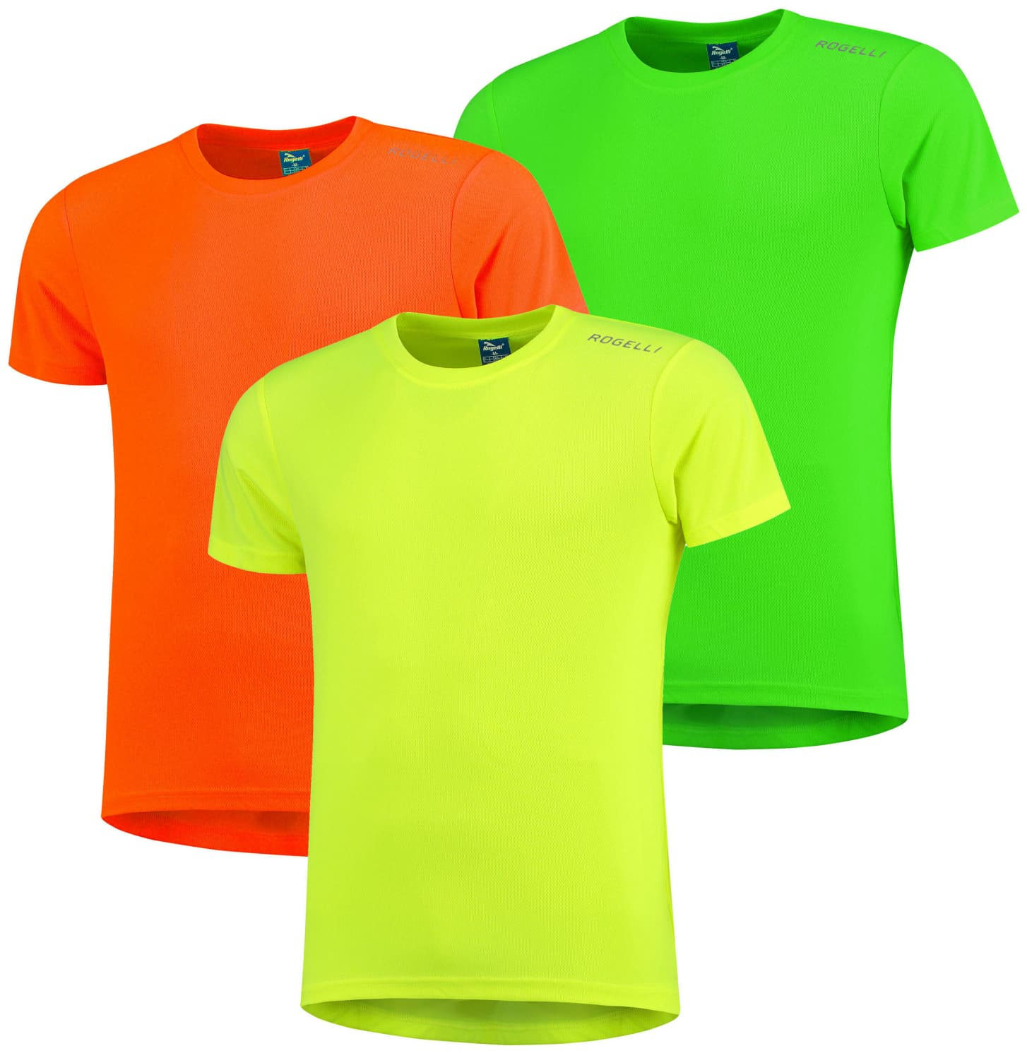 7fbdbd2c0ccd Funkčné tričká Rogelli PROMOTION MIX REFLEX - 3 ks rôzne veľkosti ...