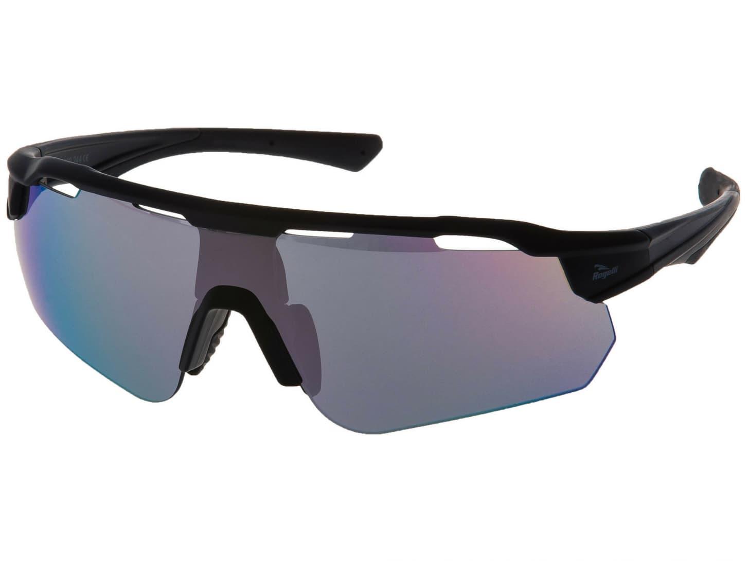 2025596fd Cyklistické okuliare Rogelli MERCURY s výmennými sklami, čierne ...