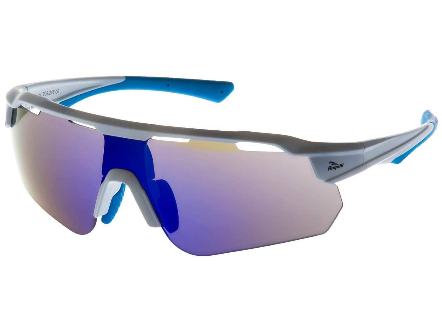 f0f60d9dc Cyklistické okuliare Rogelli MERCURY s výmennými sklami, bielo-modré ...