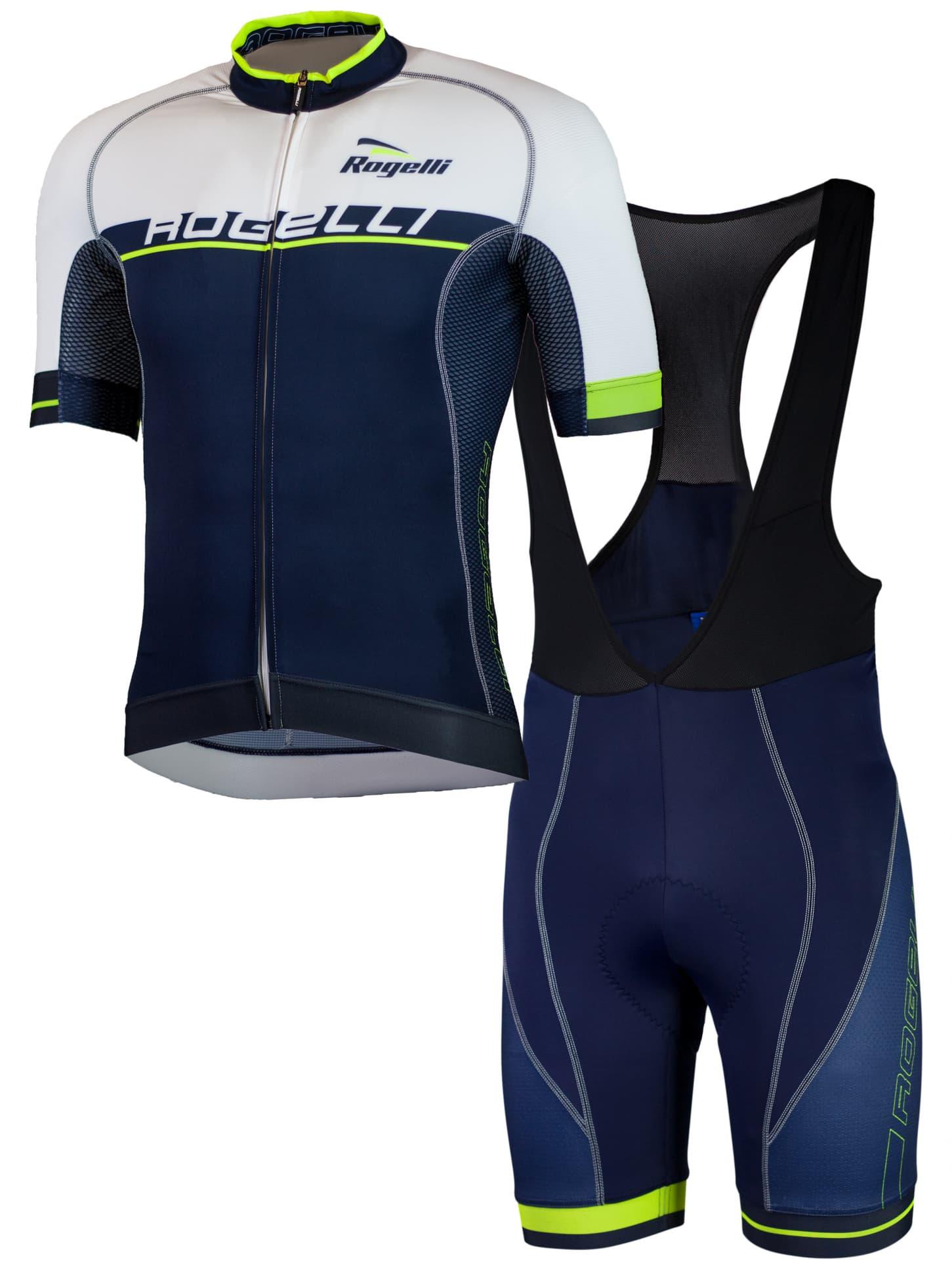 0f01bd456beda Cyklooblečenie Rogelli COMBATTIVO, modré | Rogelli.sk