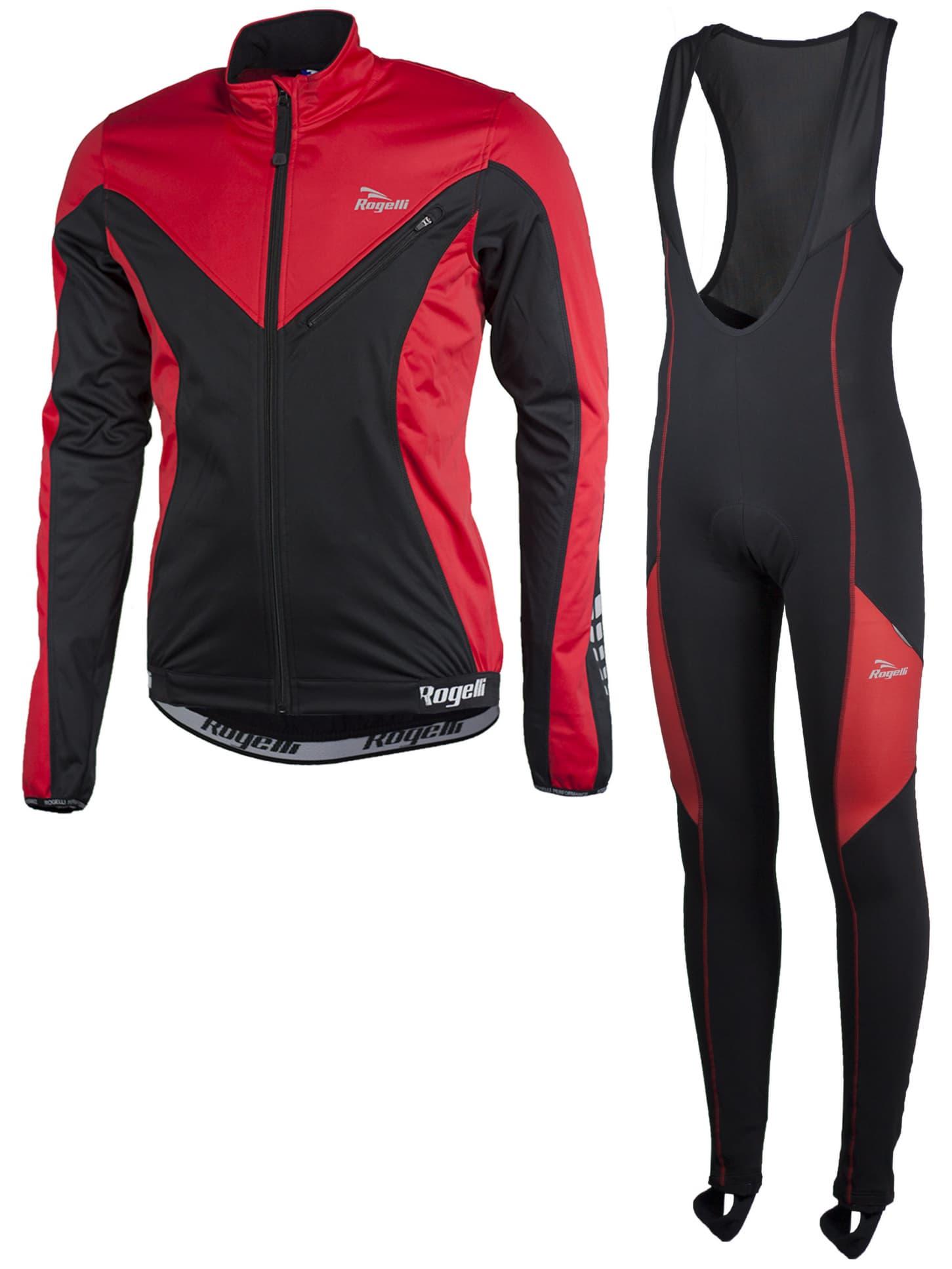 ca35046867930 Cyklistické oblečenie Rogelli TRAPANI, červené | Rogelli.sk