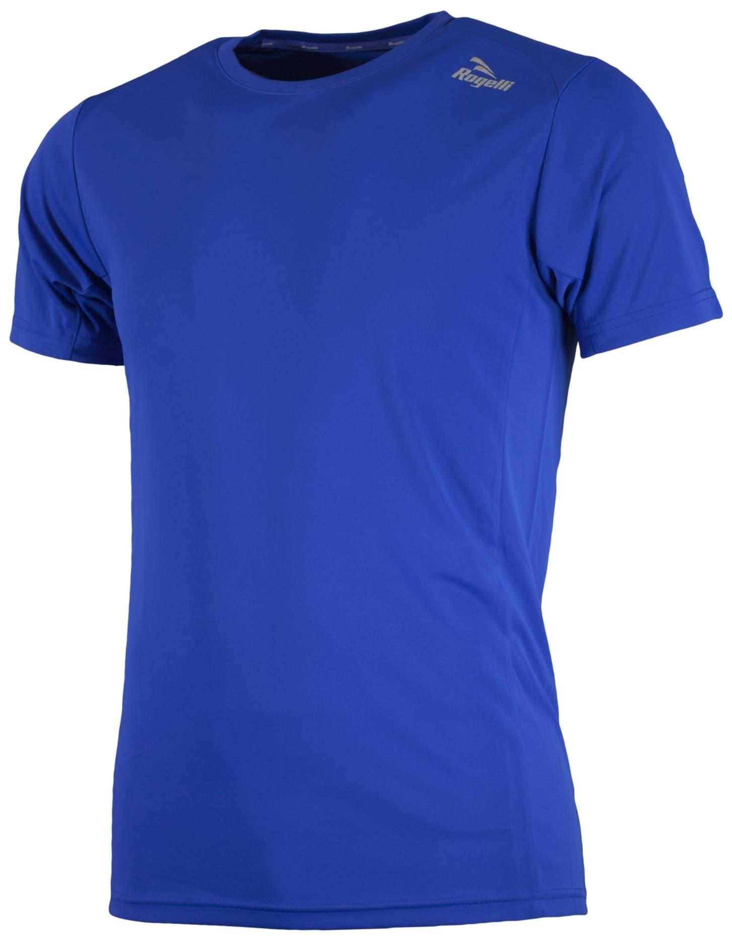 cce33d855 Športové funkčné tričko Rogelli BASIC z hladkého materiálu, modré ...