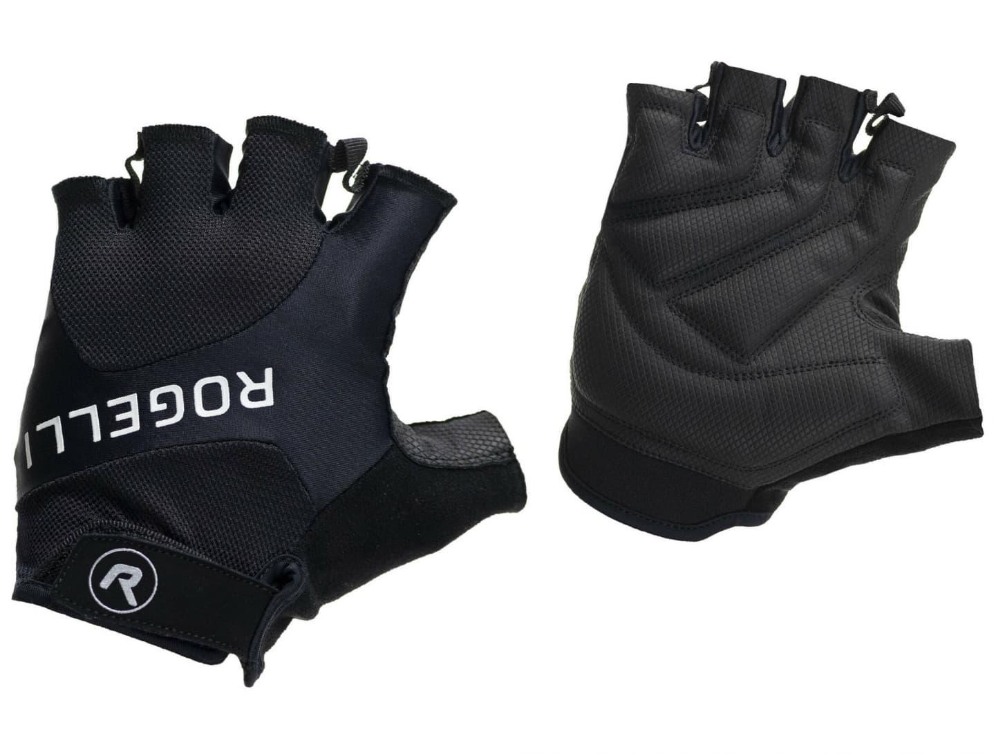 0f96ac0deb512 Cyklistické rukavice Rogelli ARIOS, čierne | Rogelli.sk
