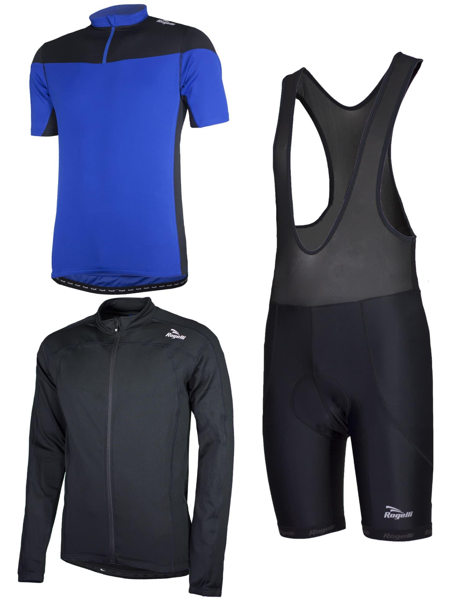 b5fe323cd226b Cyklistické oblečenie Rogelli MAZZIN, modré | Rogelli.sk