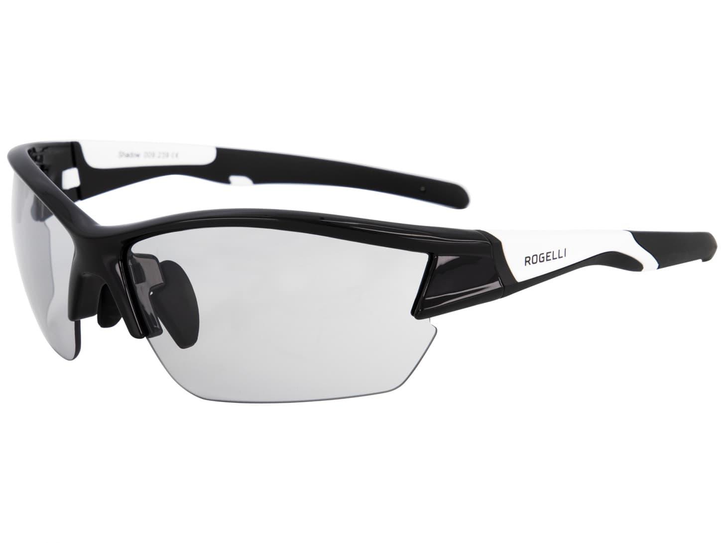 1048d35bf Fotochromatické športové okuliare Rogelli SHADOW, čierno-biele ...