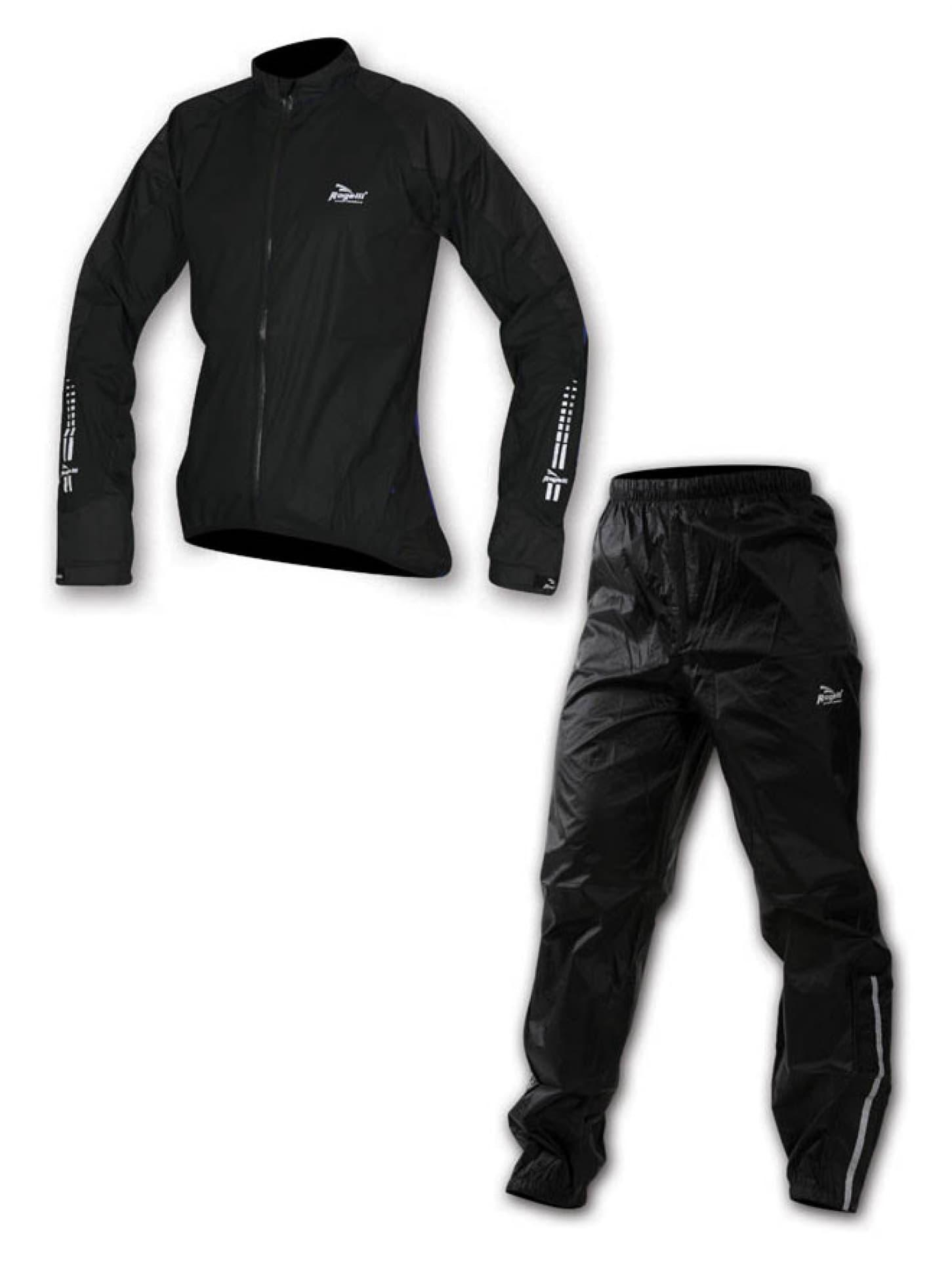 7ff99f9844a6c Sada NELSON - cyklo oblečenie do dažďa - čierna | Rogelli.sk