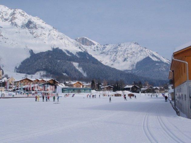 Raj zimných športov Ramsau am Dachstein