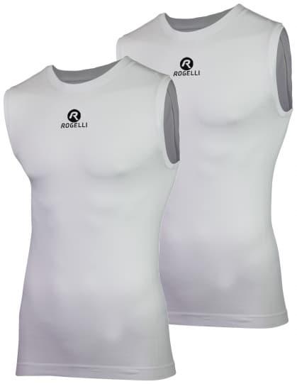 Funkčné termo tielka CORE bez rukávov - 2 kusy v balení, biele