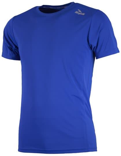 Športové funkčné tričko Rogelli BASIC z hladkého materiálu, modré