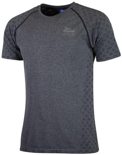 Funkčné bezšvové tričko Rogelli SEAMLESS, šedý melír