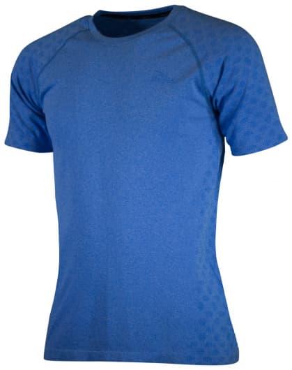 Funkčné bezšvové tričko Rogelli SEAMLESS, modrý melír