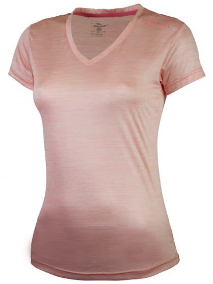 Dámske funkčné tričko Rogelli DESIRE, ružový melír