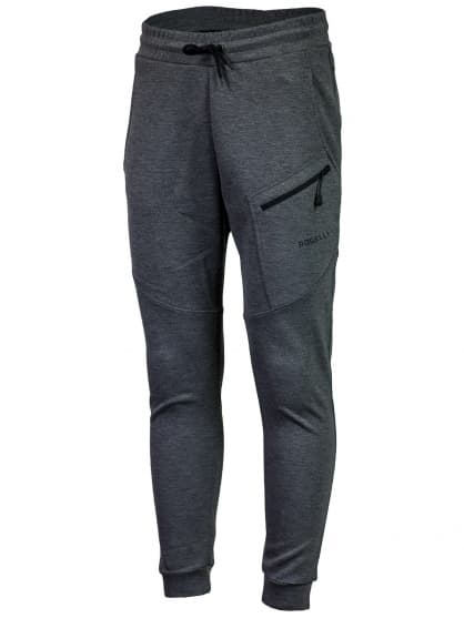 Funkčné nohavice Rogelli TRAINING s voľnejším strihom, šedé