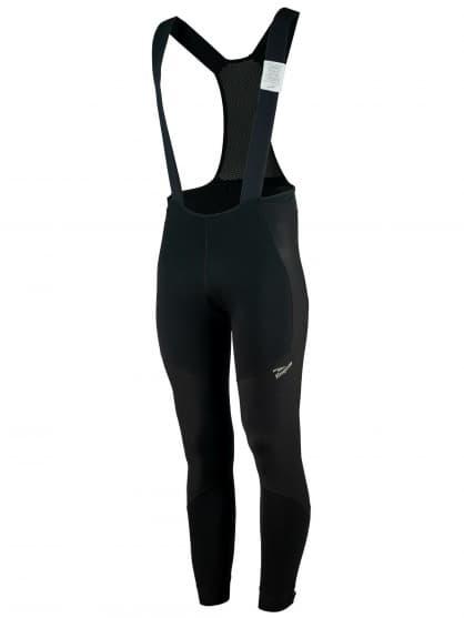 Zimné softshellové nohavice Rogelli ARTICO NO PAD s ochranou brucha, čierne