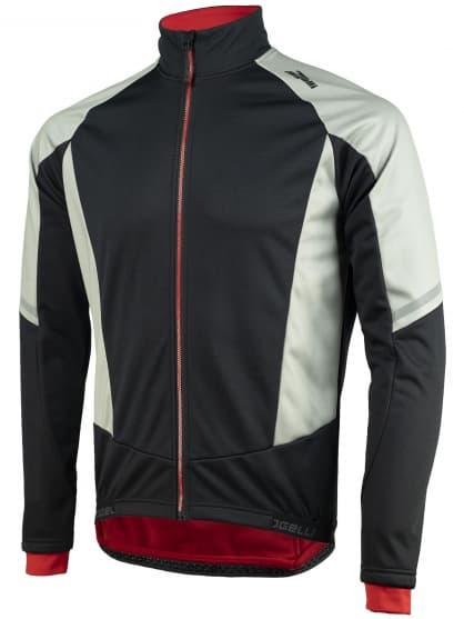 Membránová zimná bunda s hrubým zateplením Rogelli UBALDO 3.0, šedo-čierna