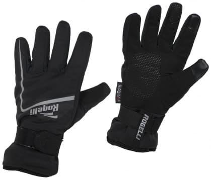 Hrejivé zimné športové rukavice Rogelli SHIELD, čierne