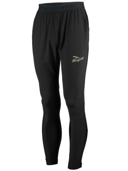 Zahrievacie nohavice Rogelli EVERMORE vhodné na kraťasy pred a po závodoch, čierne
