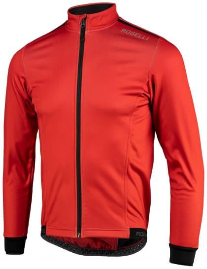 Ľahká softshellová bunda s priedušným chrbtovým panelom Rogelli PESARO 2.0, červená