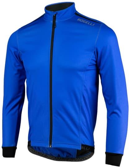 Ľahká softshellová bunda s priedušným chrbtovým panelom Rogelli PESARO 2.0, modrá