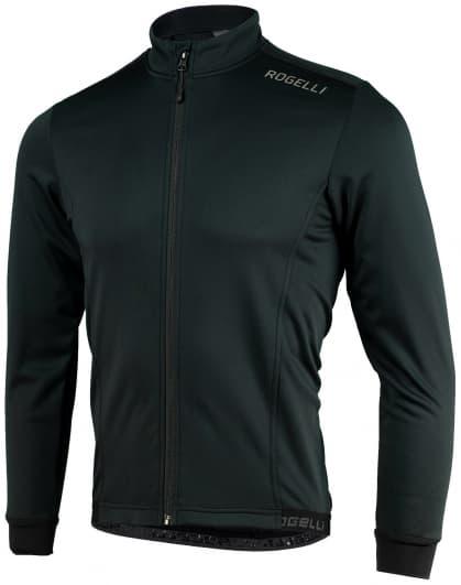 Ľahká softshellová bunda s priedušným chrbtovým panelom Rogelli PESARO 2.0, čierna