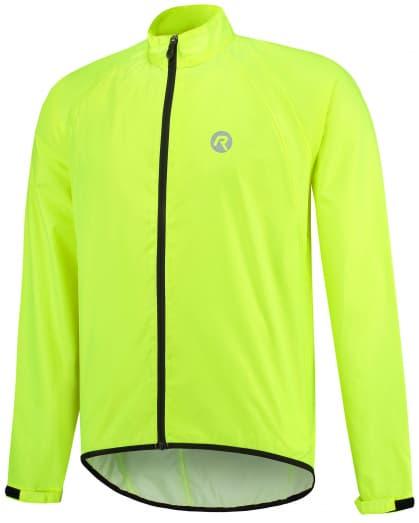 Ultraľahká cyklistická pláštenka s podlepeným švami Rogelli TELLICO, reflexná žltá