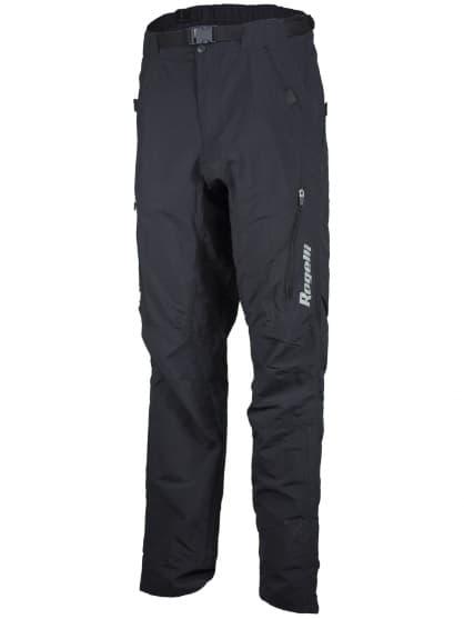 Voľné priedušné MTB nohavice Rogelli CASERTA s oderuvzdorným materiálom, čierne