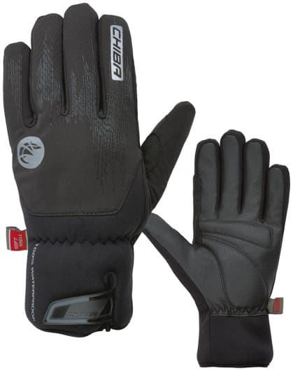 Veľmi silno hrejivé zimné rukavice DRY STAR SUPERLIGHT s odľahčením a nepremokavou membránou, čierna
