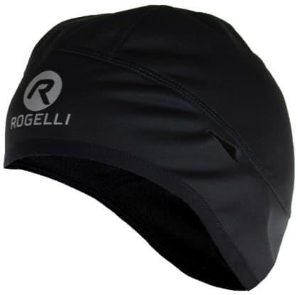 Softshellová čiapka pod prilbu Rogelli LAZIO, čierna