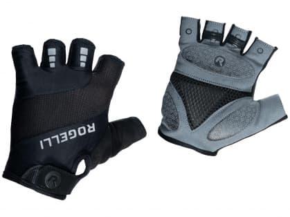 Cyklistické rukavice Rogelli PHOENIX, čierne
